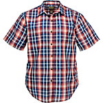 C.E. Schmidt Men's Short Sleeve Seersucker Plaid Shirt