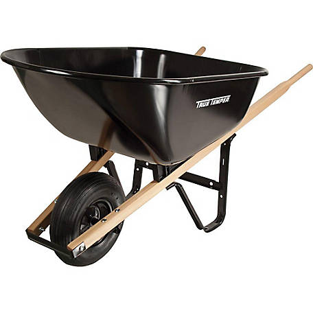 True Temper 6 cu. ft. Wheelbarrow