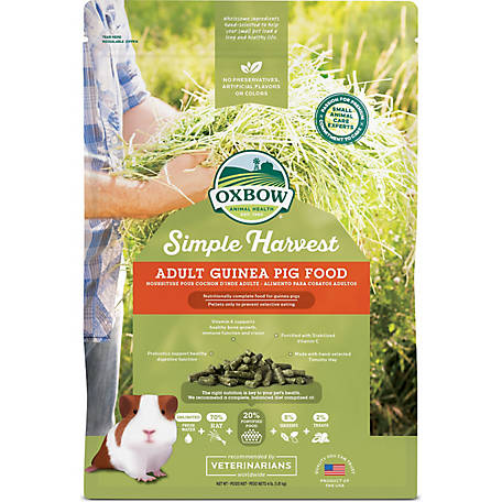 Oxbow Animal Health Simple Harvest, Adult Guinea Pig