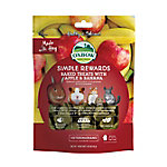 Oxbow Animal Health Simple Rewards Baked Treats with Apple & Banana, 104-725-060