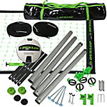 Dunlop Outdoor Sports Volleyball Set Portable Net with Poles, Ball and Air Pump Equipment for Backyard Party Games