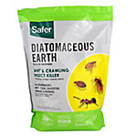 Safer Brand Diatomaceous Earth Bed Bug, Flea, Ant, Crawling Insect Killer, 4 lb.