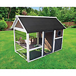 Hutches and Cottontails Bunny Barn Easy-to-Build Rabbit Home