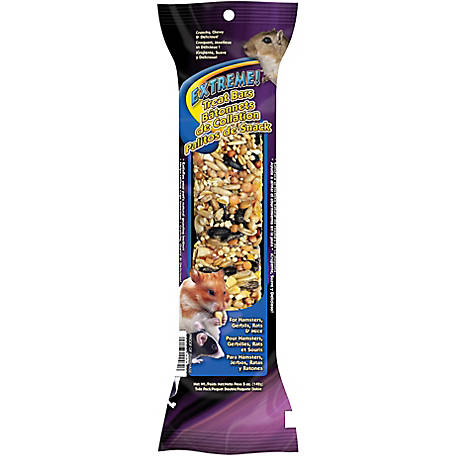 Brown's Treat Bars Twin Pack for Hamster, Gerbils, Rats and Mice, 44482