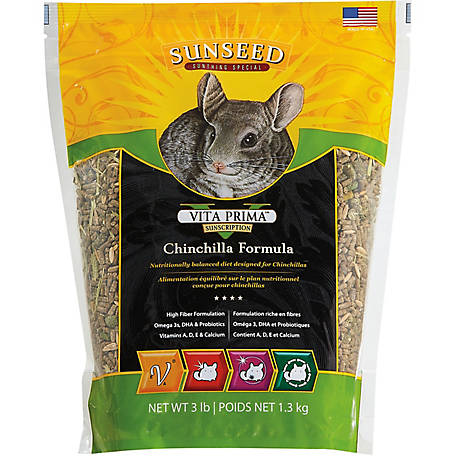Sunseed Vita Prima Chinchilla Food, 49130