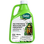 Safer Brand Insecticidal Soap & Pyrethrin Concentrate, Organic, 32 oz.