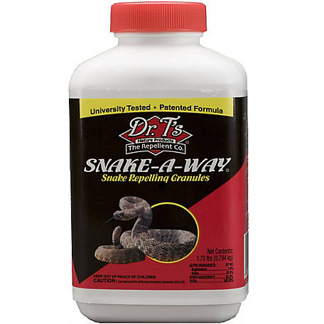 Dr. T's 1.75 lb. Snake-A-Way Snake-Repelling Granules