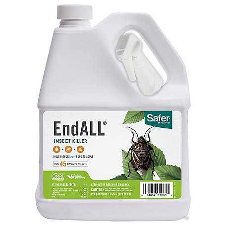 Safer Brand EndALL Insect Killer Concentrate, Organic, 1 gal.