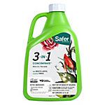 Safer Brand 3-in-1 Garden Insecticide & Fungicide Concentrate, Organic, 32 oz., 5462-4