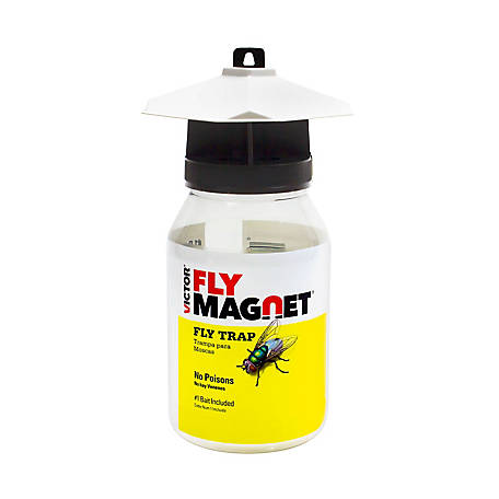 Victor Fly Magnet Reusable Trap with Bait, 1 qt.