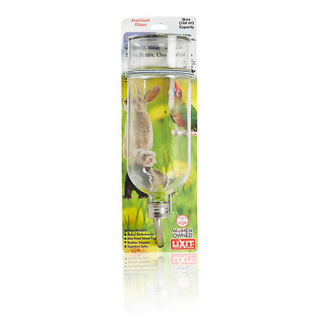 Lixit Chew-Proof Glass Water Bottle, 26 oz  at Tractor Supply Co
