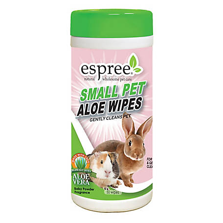 Espree Small Animal Waterless Wipes, 50 Count