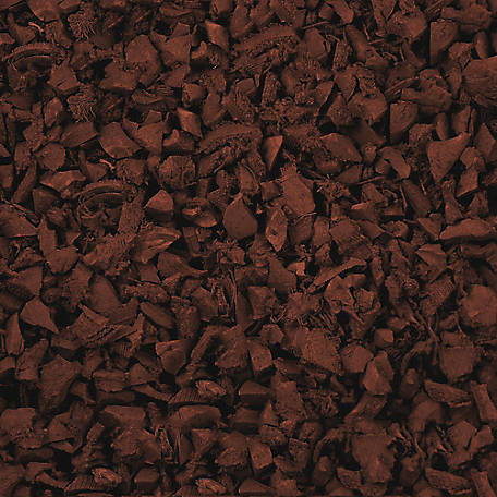 NuPlay Rubber Mulch Nuggets, Redwood, 37.5 cu. ft., NP40RW25