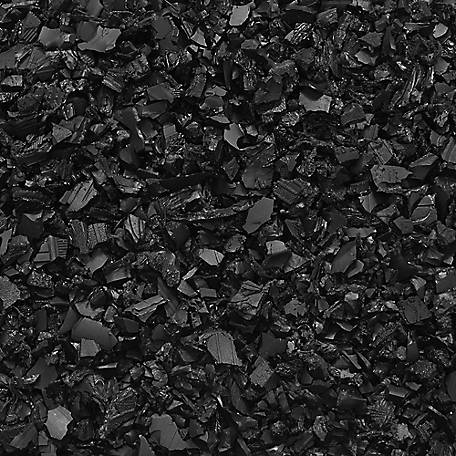 NuPlay Rubber Mulch Nuggets, Black, 37.5 cu. ft., NP40BK25