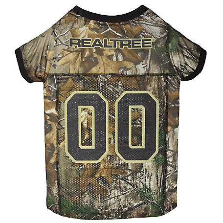 Realtree Camouflage Hunting Dog Jersey, RT-4006-LG