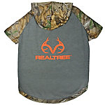 Realtree Camouflage Hunting Dog Hoodie Tee Shirt