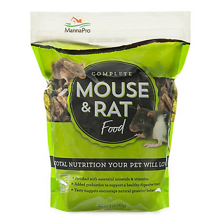 Manna Pro Advanced Mouse-Rat Pellet, 2 lb.