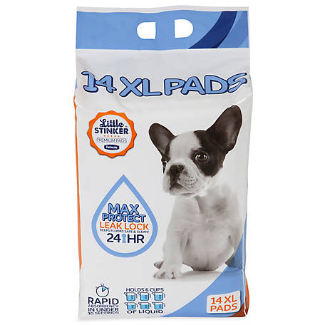 Precision Pet Little Stinker Housebreaking Pad, 30 in. x 30 in., Pack of 14