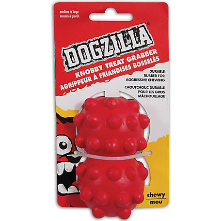 Dogzilla Knobby Treat Grabber, Medium