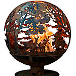 Fire Globe Wildlife, X-Large