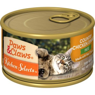 PAWS AND CLAWS CAT FOOD REVIEW
