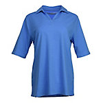 Bit & Bridle Women's Short Sleeve Johnny Collar Polo Shirt