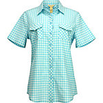 Bit & Bridle Crinkle Yarn Dye Plaid Camp Shirt