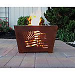 Laser-Cut Fire Box, Flag