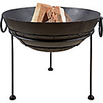 Recycled Steel Fire Bowl, Medium