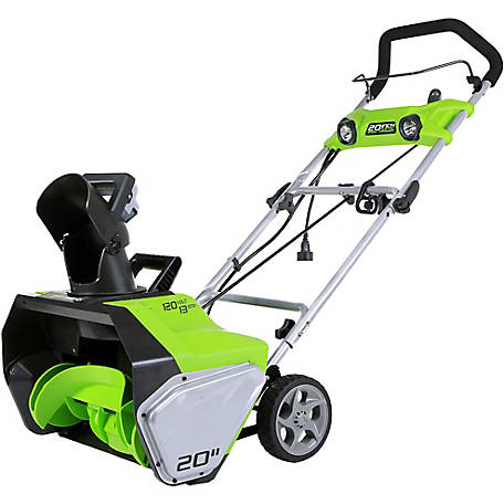 GreenWorks 2600202 13A 20 in. Single Stage Snow Blower