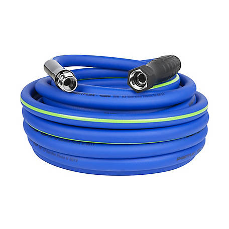 SmartFlex Garden Hose, 5/8 in. x 50 ft., 3/4 in. - 11 1/2 GHT Fittings, Blue, HSFG550BL