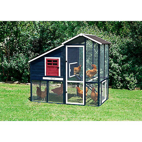 Precision Pet Products Walk In Annex Ii Chicken Coop 8 Chickens At