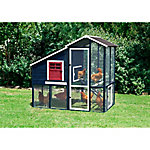 Precision Pet Products Walk-In Annex II Chicken Coop, 8 Chickens