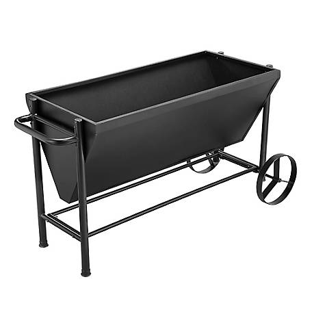 GroundWork Metal Rolling Planter, 49 in. x 23 in., PT1002