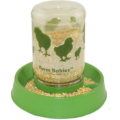 Lixit Farm Babies Chick Feeder/Fount 32 oz.