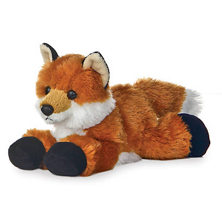 Aurora Mini Flopsie Foxxie Fox Soft Toy, 31290
