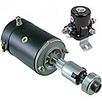 PUR-AMP Ford Tractor Starter for 2N/8N/9N, 12V and 9T Drive