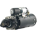 Delco Remy 35MT Tractor Starter for Allis, Case International, IHC DT466 414, 12V, 10T, CCW