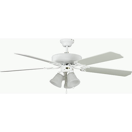 Concord by Luminance 42 in. Heritage Home Ceiling Fan, White