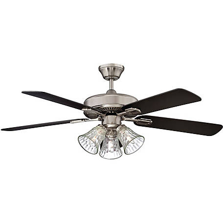 Concord by Luminance 42 in. Richmond Ceiling Fan, Stainless Steel