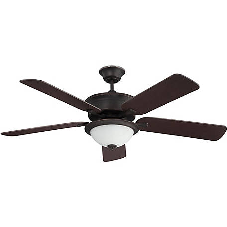Concord by Luminance 52 in. Brookport Ceiling Fan, Oil Rubbed Bronze