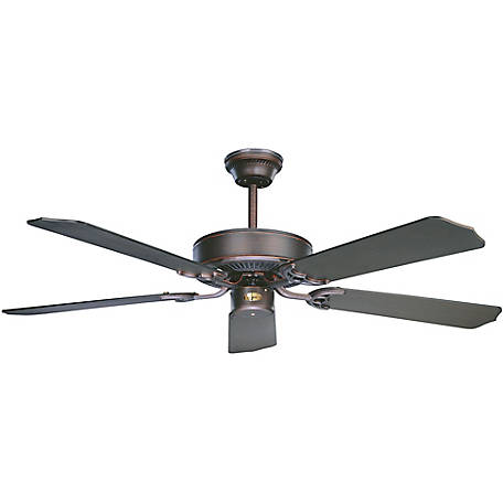 Concord by Luminance 52 in. California Home Collection Ceiling Fan, Oil Rubbed Bronze