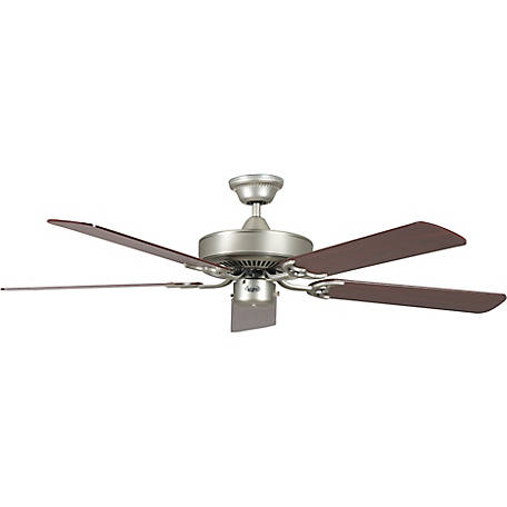 Concord by Luminance 52 in. California Home Collection Ceiling Fan, Satin Nickel