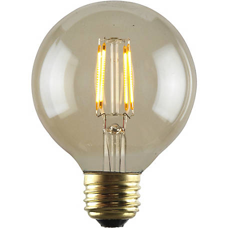 Luminance LED G25 Nostalgia Filament/Bathroom and Vanity Light Bulb