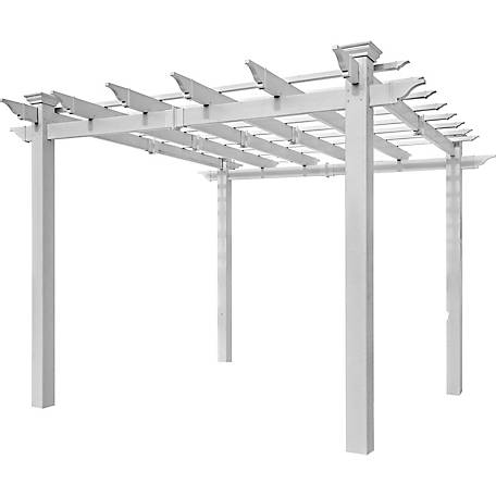 New England Arbors 8 ft. x 8 ft. Mirage Pergola