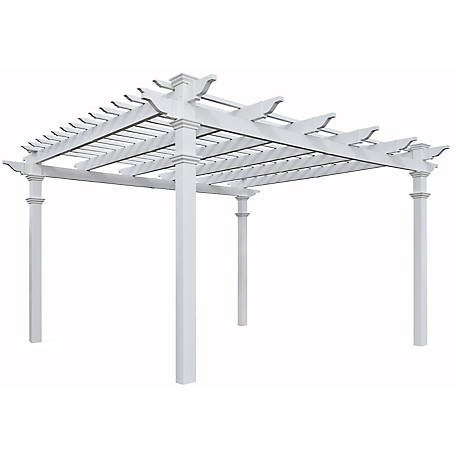 New England Arbors 12 ft. x 12 ft. Regency Pergola