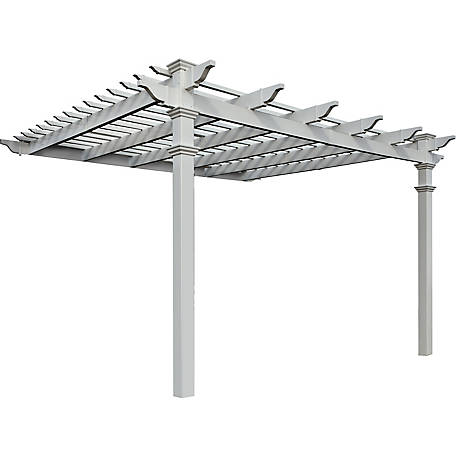 New England Arbors 12 ft. x 12 ft. Freemont Pergola