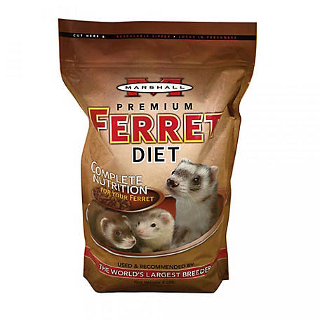 Marshall Premium Ferret Diet, 4 lb. Bag