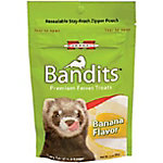 Marshall Bandits Premium Ferret Treats, Banana, 3 oz.