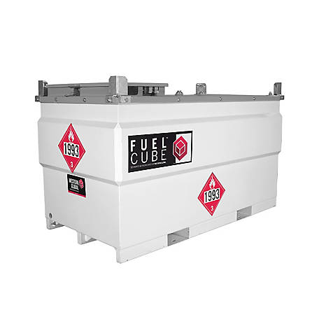 Western Global 500 gal. Fuelcube Portable Fuel Tank, 500